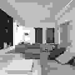 SA House ACCESS ARCHITECT Ruang Keluarga Minimalis