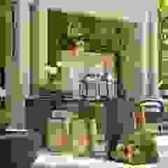 Interart Design de Interiores Modern style balcony, porch & terrace Stone Beige