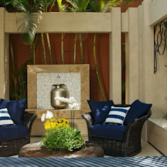 Interart Design de Interiores Modern style conservatory Stone Blue