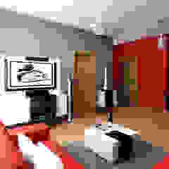 Paredes y pisos minimalistas de homify.co.id Minimalista