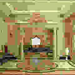 Classic Villa Reception راهرو سبک کلاسیک، راهرو و پله من Rêny كلاسيكي