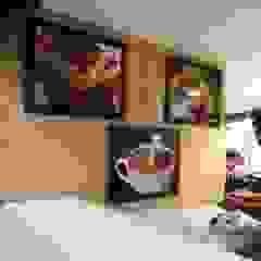 diseño comercial Naromi Design Restaurantes Madera Blanco