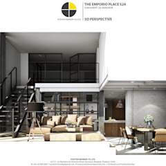 ออกแบบห้องชุด Positive Monday Co.,Ltd.