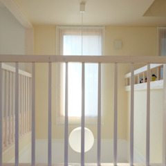 House renovation for a young couple and four children من 小形徹*小形祐美子 プラス プロスペクトコッテージ 一級建築士事務所 إسكندينافي خشب Wood effect