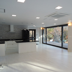 RAON ENC Modern kitchen Black