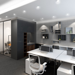 Kelly Commercial Centre Modern office buildings by Artta Concept Studio Modern