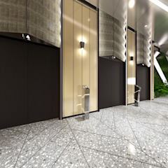 Hop Tower Modern office buildings by Artta Concept Studio Modern