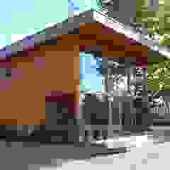 RUSTICASA | Casa modelo | Vila Nova de Cerveira por Rusticasa Moderno Madeira Acabamento em madeira