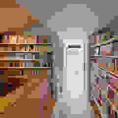 向陽台の家 モダンデザインの 書斎 の 樋口章建築アトリエ モダン
