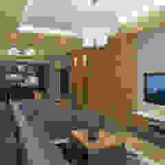 شقة سكنية ملك م / محمد فوزي من Quattro designs حداثي ألواح خشب مضغوط