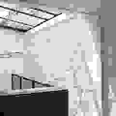 APARTAESTUDIOS PALERMO Habitaciones de estilo industrial de santiago dussan architecture & Interior design Industrial