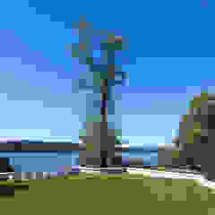 Hudson Valley Spa andretchelistcheffarchitects Modern garden