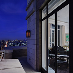 Park Avenue Duplex andretchelistcheffarchitects Modern balcony, veranda & terrace