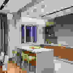Функциональный дизайн небольшой кухни Кухня в стиле лофт от Artichok Design Лофт