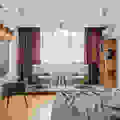 Дизайн спальни в стиле контемпорари и лофт Спальня в стиле лофт от Artichok Design Лофт
