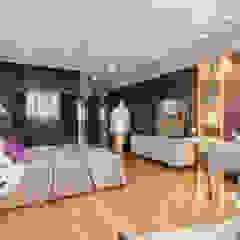 Дизайн спальни в стиле contemporary и loft Спальня в стиле лофт от Artichok Design Лофт