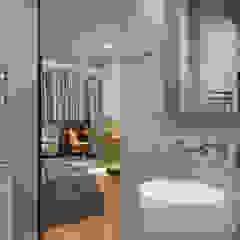 Функциональный дизайн ванной в стиле лофт Ванная в стиле лофт от Artichok Design Лофт