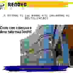 de Renovo Reformas Retrofit Fachada 3473-2000 em Belo Horizonte Clásico Concreto reforzado