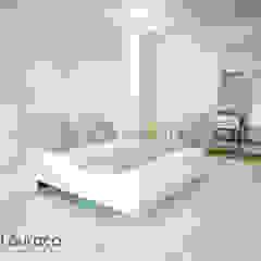 """Projecto de Decoração """"Like Green"""" Quartos minimalistas por Andreia Louraço - Designer de Interiores (Contacto: atelier.andreialouraco@gmail.com) Minimalista"""