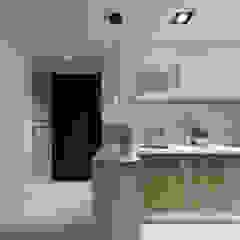 廚房/玄關 Moooi Design 驀翊設計 斯堪的納維亞風格的走廊,走廊和樓梯