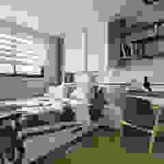 Scandinavian style bedroom by Moooi Design 驀翊設計 Scandinavian