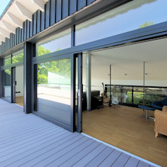 Architekten Lenzstrasse Dreizehn Modern Terrace