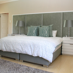 BHD Interiors ห้องนอนเตียงนอนและหัวเตียง