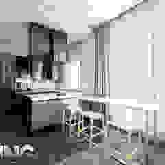 من Zoning Architects حداثي خشب Wood effect