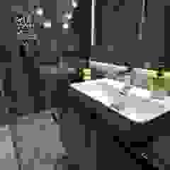 Dom Jednorodzinny Wisła - Realizacja Industrialna łazienka od MARTA PAWLAK ARCHITEKTURA WNĘTRZ Industrialny