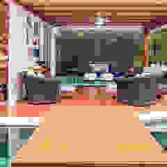 Churrasqueira Gourmet por VN Arquitetura Tropical