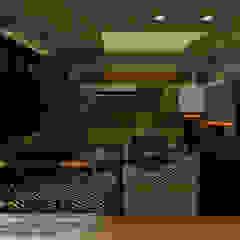 Arquitetura de Interiores Paredes e pisos ecléticos por AT11 arquitetura Eclético