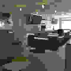 Restaurante Bianca & Latte Comedores de estilo ecléctico de Bustos + Quintero arquitectos Ecléctico