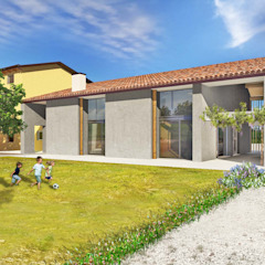Ristrutturazione Edificio Rurale di Studio di Architettura e Ingegneria Santi Rurale