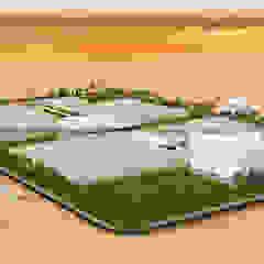 Industrialny ogród zimowy od Rayvat Rendering Studio Industrialny