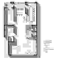 Ground Floor Plan: modern  by mold design studio,Modern