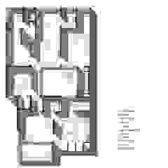 First Floor Plan: modern  by mold design studio,Modern