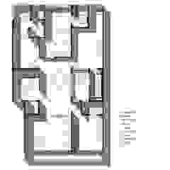 Third Floor Plan: modern  by mold design studio,Modern