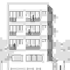 Rear Elevation: modern  by mold design studio,Modern