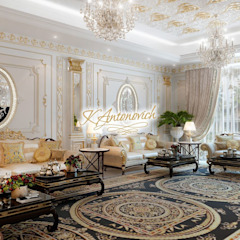 ​Living room design, the ideas of Katrina Antonovich by Luxury Antonovich Design Classic