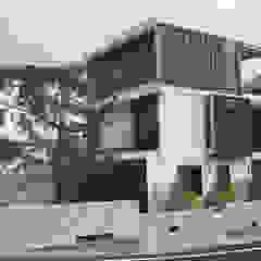 Casas de estilo industrial de 石方室內裝修有限公司 Industrial