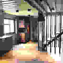 Industrial style kitchen by 石方室內裝修有限公司 Industrial