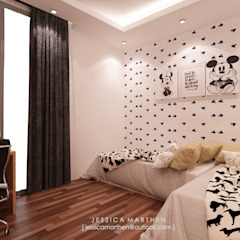 Modern style bedroom by JESSICA DESIGN STUDIO Modern