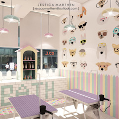 Spa escandinavos de JESSICA DESIGN STUDIO Escandinavo