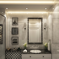 Spaces Eclectic style bathroom by Levels Studio Eclectic