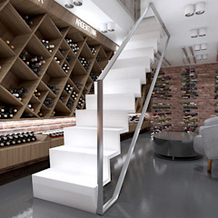 Modern wine cellar by ARTDESIGN architektura wnętrz Modern