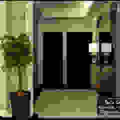 Couloir, entrée, escaliers originaux par DeZign center office by Dalia Gaber Éclectique
