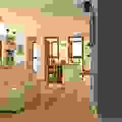 Mieszkanie Gdańsk Wrzeszcz Śródziemnomorski salon od Interior Idea Projektowanie Wnętrz Śródziemnomorski