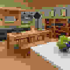 Mr. Arbianto Apartment Ruang Keluarga Gaya Asia Oleh Getto_id Asia Kayu Lapis