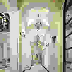 راهرو سبک کلاسیک، راهرو و پله من Spazio Interior Decoration LLC كلاسيكي رخام