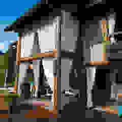 Casa na montanha. Casas campestres por Giselle Wanderley arquitetura Campestre